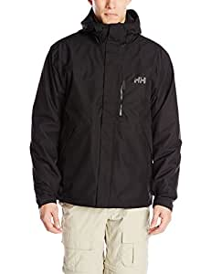Helly Hansen Men's Squamish CIS Jacket, Black, Small