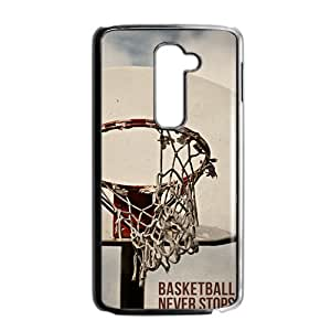 basketball never stops Phone Case for LG G2 Case