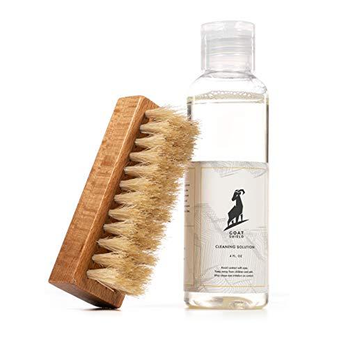GOAT SHIELD Premium Shoe Cleaner Kit Brush and