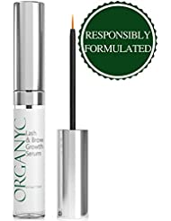 Organyc Eyelash & Eyebrow Growth Serum (High Potency...