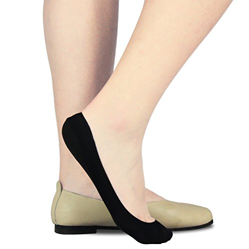 6 Pairs No Show Socks Women Socks Low Cut Thin Footie Non Slip Liner Casual Boat Sock
