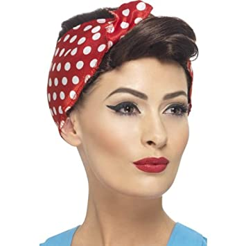 1940 s Wartime Fancy Dress Party Rosie Wig Ladies Brown Headwear With  Headscarf c6e12ccdb07