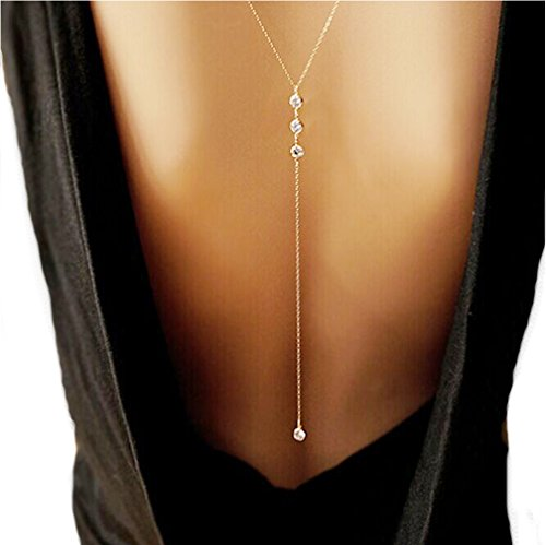 Samgoo Vintage Fashion Rhinestone Necklace product image