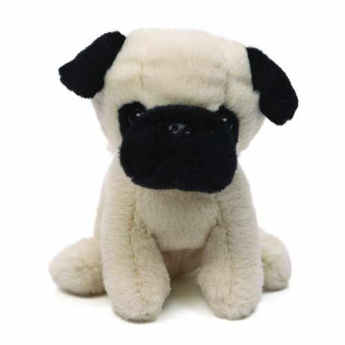 Gund Shmossy Pug Dog Stuffed Animal