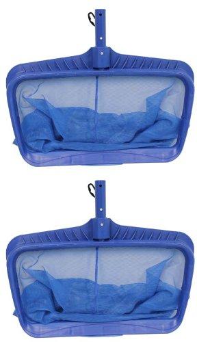 2) Swimline Hydro Tools 8040 Professional Heavy Duty Deep Bag Leaf Rake Pool ()