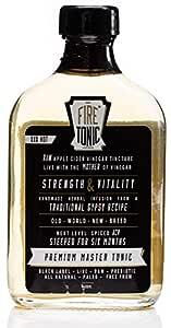 Hilbilby Fire Tonic Black Label Hip Flask,, Original180 milliliters