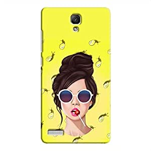 Cover It Up Glasses Lollipop Hard Case For Xiaomi Redmi Note 4G