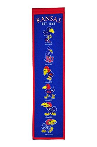 NCAA Kansas Jayhawks Heritage Banner