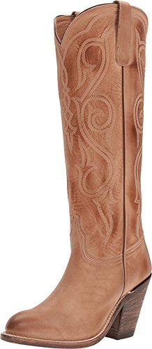Womens Shoes Casual Lucchese - Lucchese Women's Handmade Vanessa Cowgirl Boot Round Toe Tan 9.5 M US