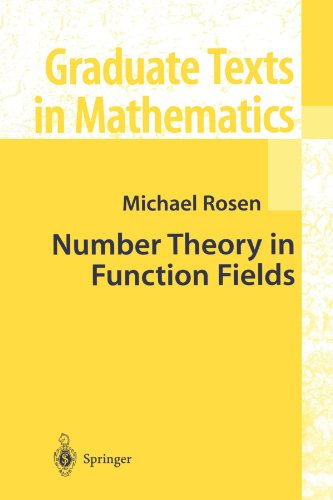 Number Theory in Function Fields (Graduate Texts in Mathematics)