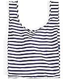 BAGGU Standard Reusable Shopping Bag - Sailor Stripe