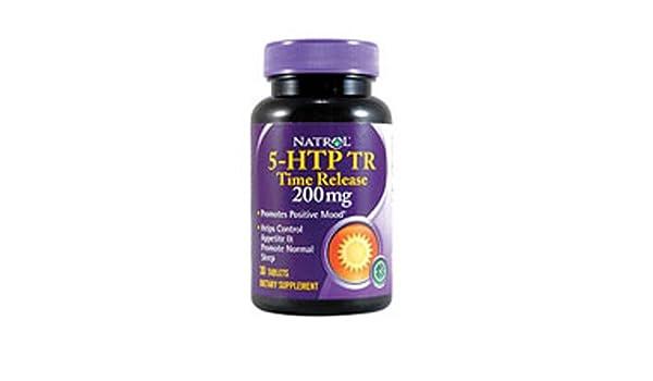 Natrol: 5-HTP Time Release 200 mg, 30 tabs (2 pack) by Natrol: Amazon.es: Salud y cuidado personal