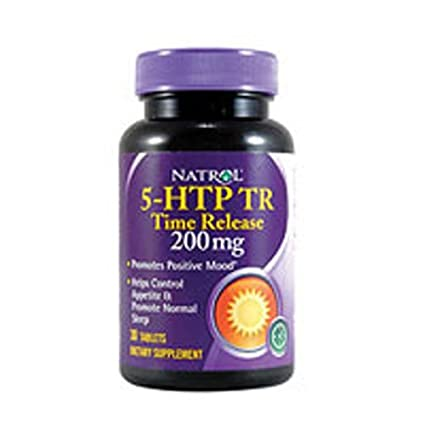 Natrol: 5-HTP Time Release 200 mg, 30 tabs (2 pack)