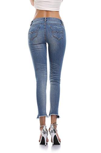 Accede Jeans Accede Donna Attillata Jeans Blue xvSxr6