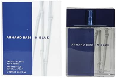 Armand Basi in Blue Eau de Toilette Spray, 3.4 Ounce