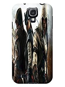 3D cute cartoon tpu skin back cover case with texture for Samsung Galaxy s4 of Assassin's Creed in Fashion E-Mall