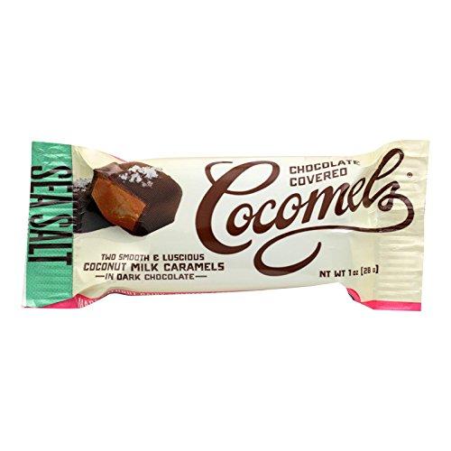 Cocomels Coconut Milk Caramels, Sea Salt, 1 oz