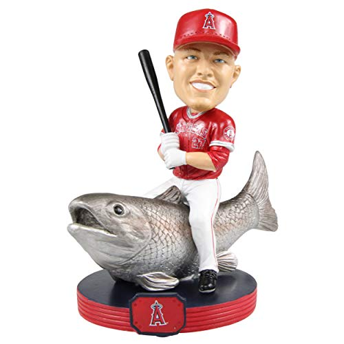 (Mike Trout (Los Angeles Angels) MLB 2018 Riding Bobbleheads by Foco)