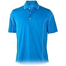 Monterey Club Mens Dry Swing Garnish Overlock Shirt #1186