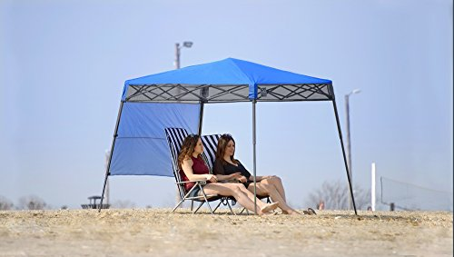 Quik Shade GO Hybrid Compact Slant Leg Backpack Canopy, Blue, 7 x 7-Foot by Quik Shade Pets (Image #3)
