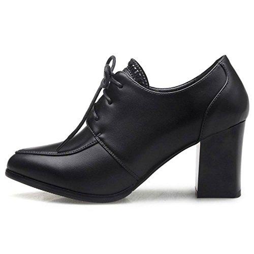 Top 6 Fashion Low Shoes Women Autumn Black Boots Taoffen wq1CUOw