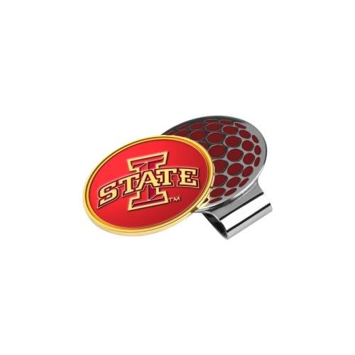 LinksWalker NCAA Iowa State Cyclones Golf Hat Clip with Ball Marker