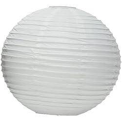 "Round Paper Lantern, 20"", White"