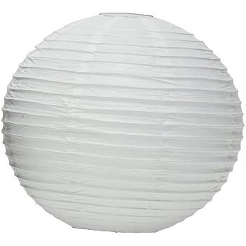"""Weddingstar Round Paper Lantern, 16"""", White"""