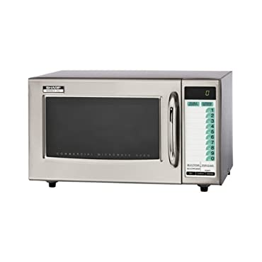 Sharp Stainless Steel Professional Microwave Oven (R21LTF)