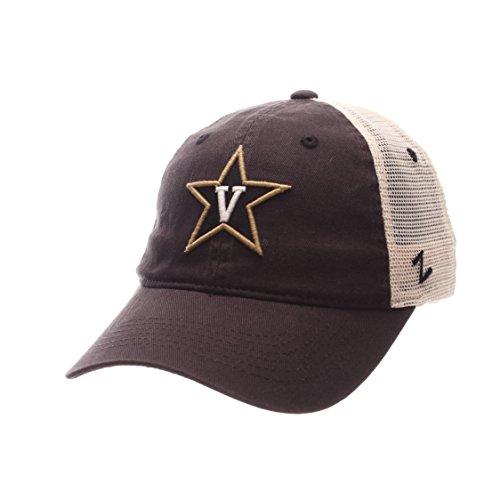 NCAA Vanderbilt Commodores Adult Men University Relaxed Cap, Adjustable, Team Color/Stone