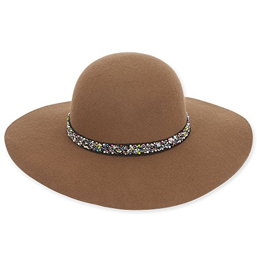 adora-womens-wool-felt-wide-brim-floppy-fedora-hat-with-bead-trim-455-a-pecan