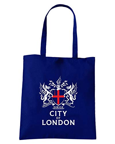 LONDON OF CITY Blu Shirt Speed Navy Borsa TUM0223 Shopper qUHH8xz
