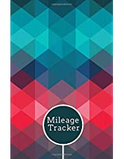 """Mileage Tracker: Mileage Record and Expense Tracker Logbook, Vehicle Mileage Template, Destination Log Journal Notebook Gifts for Business Tax Accounting Gift for Work, Drivers, Employees 5.5""""x8.5"""" with 120 pages."""