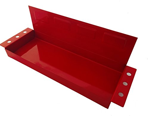 Magnetic Tool Storage Holding Tray Shelf with Screwdriver Holder by Habco Products