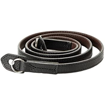 Artisan /& Artist Premium Leather Camera Strap ACAM 252 BLACK Comfort Neck Pad