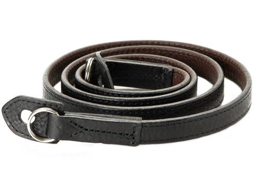 Artisan & Artist ACAM-280 Kobe Shaved-edge Strap (Black) by Artisan&Artist