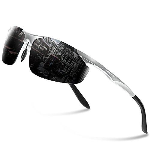PAERDE Men's HOT Fashion Driving Fishing Golf Polarized Sunglasses for Men Al-Mg Metal Frame Ultra Light PA03 - Sun Glass Hot