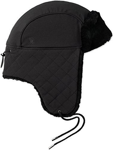 UGG Women's Quilted Nylon Trapper Black One Size by UGG