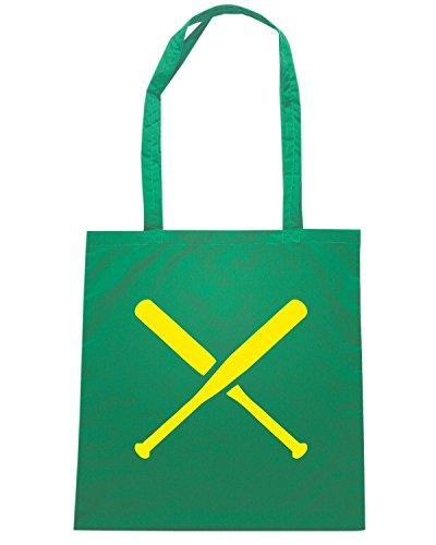 T-Shirtshock - Bolsa para la compra SP0136 Two Pitchers Maglietta Verde