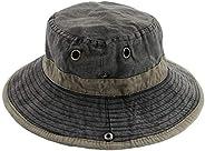 Ledamon Men's Sun Hat Fisherman Hat Outdoor Uv Protection Fishing Bucket