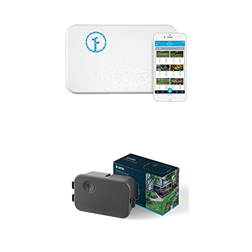 Rachio Smart Sprinkler Controller, 8 Zone 2nd Generation, Works with Amazon Alexa WITH Rachio Outdoor Enclosure, for 2nd Generation Sprinkler Controller