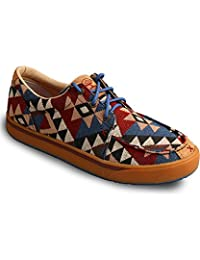 HOOey Casual Shoes Mens Graphic Red Buckle Laced Multi-Color MHYC006