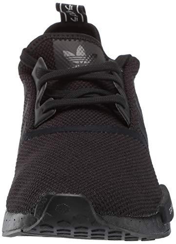 adidas Originals Men's NMD_R1 Running Shoe, Black/White, 4 M US by adidas Originals (Image #4)
