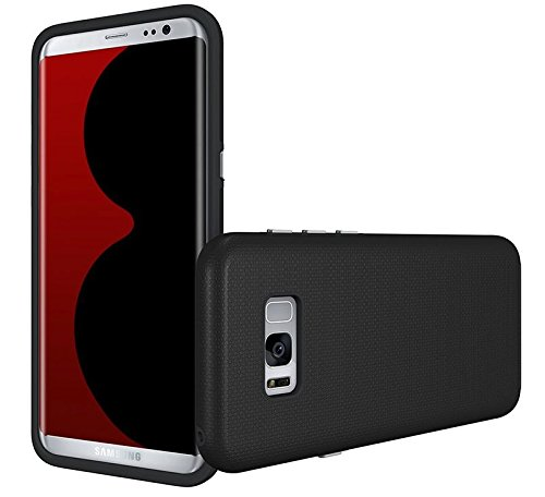 GALAXY S8 PLUS CASE, Tessera [FOOZ] – Perfect Fit + Shock Absorption + Slim Fit + Maximum Drop Protection TPU Case For SAMSUNG GALAXY S8 PLUS (2017) 1 Year Manufacturer Warranty