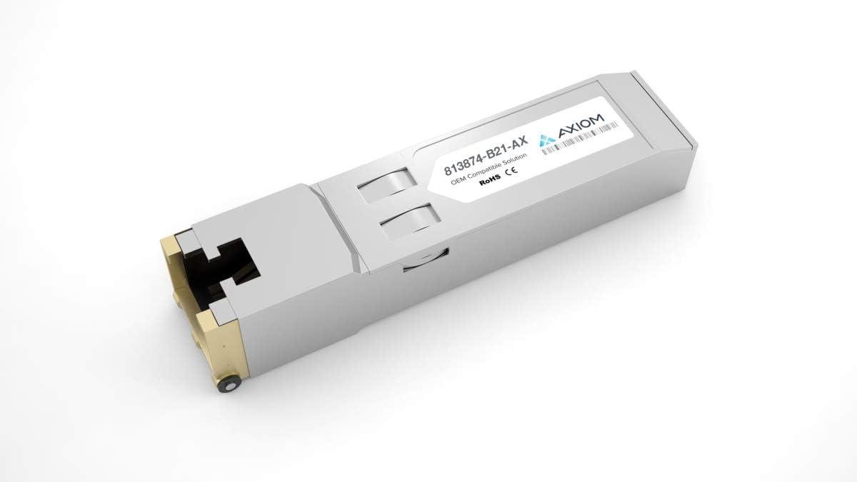 HP 813874-B21 10GBase-T SFP+Transceiver Module