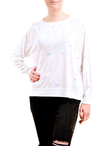 Blanco Cross Country Sudaderas Mujer Printed Wildfox UPcTqH