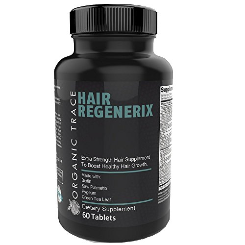 Works Natural (Hair Regenerix- The Best Hair Loss Treatment For Men! With DHT Blocker Ingredients & All-Natural Ingredients That Work! Quickly and Naturally Grow Thicker, Fuller and Healthier Hair.)