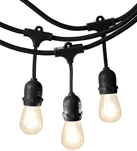 AmazonBasics Weatherproof Outdoor Patio String Lights