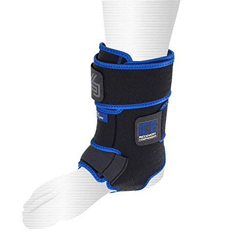 Shock Doctor Performance Sports ICE Recovery Ankle Compression Cold Therapy Ice Wrap -
