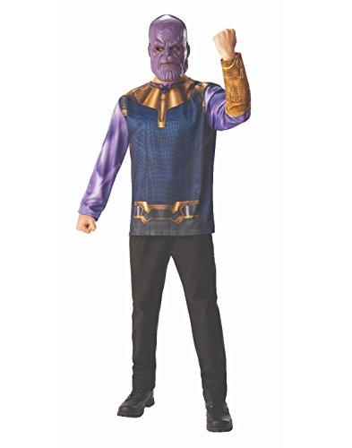 Rubie's Men's Marvel Avengers Infinity War Thanos Costume Top and Mask, Standard ()